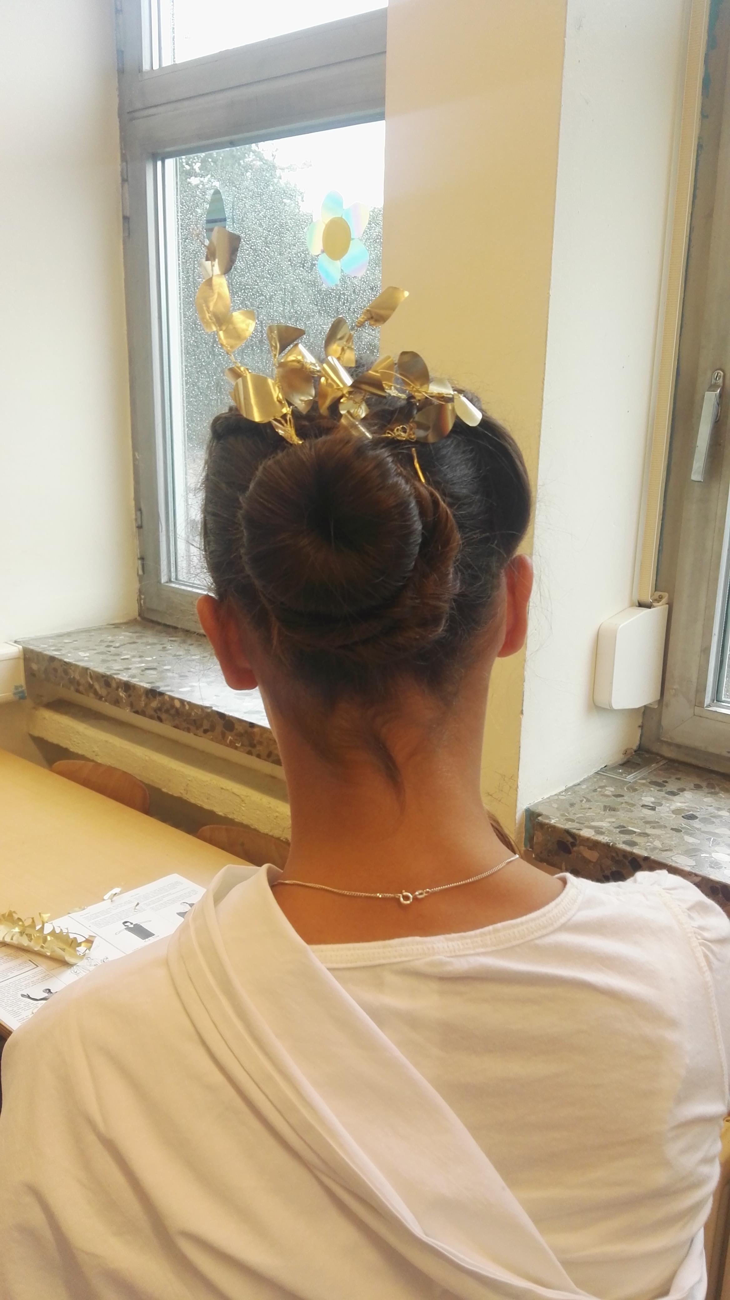 Römische Frisur 2